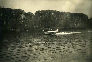 France Sartrouville Aviation Flying Boat CAMS 80 Old Photo 1932
