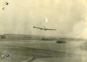 France? Aviation Weird Flying Machine Old Photo 1930