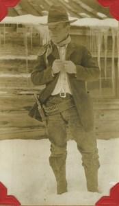 USA Far West Coast Montana California Cowboy Album of 60 Photos 1930's
