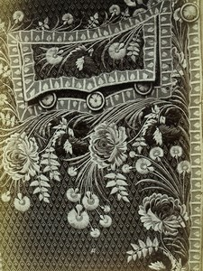 France Collection of Ancient Embroidery XVIIIth century 60 Photos Calavas 1880
