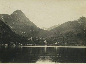 Norway Geirangerfjord & Nordfjord Fjords Glacier 10 Old Photos Amateur 1925