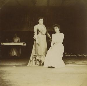 France Niederbronn Groupe 4 anciennes photos amateur 1901