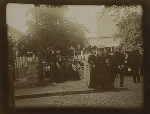 France Paris Mariage Maries Invites 8 Anciennes Photos 1908