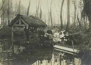 France Fontainebleau Thomery Lavoir 5 Anciennes Photos amateur 1910