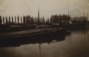 France Lille scenes diverses Bateaux Velos Engin a Vapeur 27 anciennes photos 1902