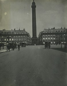 France Paris scènes de la vie quotienne Defile Chantier 9 Anciennes Photos amateur 1911