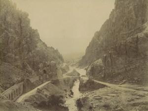 Algeria El Kantara Gorges Aïn Touta Roman Bridge Old Photo Emile Frechon 1900