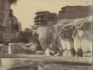 Algeria Oued Abdi Guelaa at Beni Souik Old Photo Emile Frechon 1900
