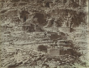 Algeria Aïn Touta Tilatou village Old Photo Emile Frechon 1900