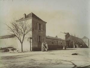 Algeria Aïn Touta Mac Mahon Townhall? Old Photo Emile Frechon 1900