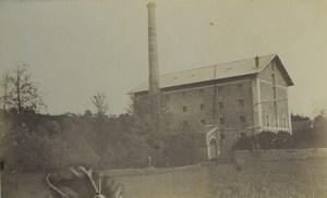 France Essonne Mounlin de Brunoy Watermill Old Photo 1894