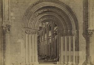 France Abbaye Notre Dame de Fontgombault Abbey Old Photo 1890