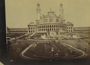 France Paris Expo Universelle Palais du Trocadero Ancienne Photo 1889