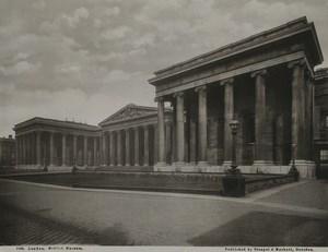 United Kingdom London British Museum Architecture Old Stengel Photo 1897