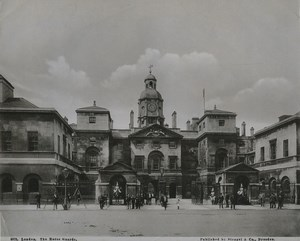 United Kingdom London the Horse Guards Old Stengel Photo 1897