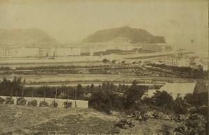Espagne San Sebastian vue generale Ancienne Photo Neurdein 1890