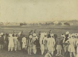 India Military Parade Maneuvers Old Photo circa 1900