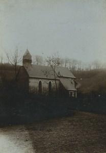 France Pas-de-Calais Bimont Church Old Photo 1905