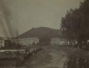 Belgique Malmedy Papeterie Steinbach? Ancienne Photo 1890