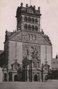 Germany Trier Treves MatthiasKirche Old Photo Cabinet card 1890