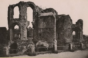 Germany Trier Treves Royal Palace ruins Old Photo Cabinet card 1890