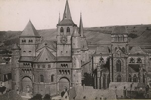 Germany Trier Treves Cathedral & Liebfrauenkirche Old Photo Cabinet card 1890