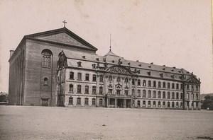 Germany Trier Treves Kurfürstliches Palais Basilica Old Photo Cabinet card 1890