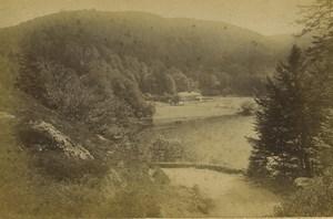 France Gerardmer Lac de Retournemer Lake Old Photo Cabinet card Neurdein 1890