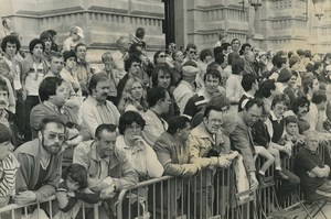 Photo stage 10 of the Tour de France 1979 Roubaix Spectators Cycling