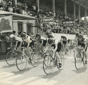 Photo stage 12 of the Tour de France 1981 Roubaix Velodrome Start Cycling