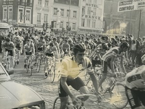 Photo stage 12 of the Tour de France 1981 Roubaix street Cycling