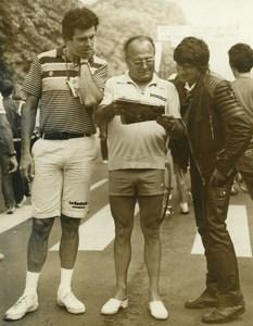 Photo 6e Etape du Tour de France 1982 Lille Départ Cyclisme