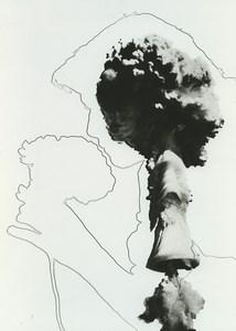 France Fantaisie Photographique Etude Baiser de la Mort Ancienne Photo Deplechin 1970