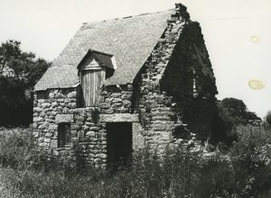 France Photographic Study Stone House Ruins Old Deplechin Photo 1970 #1