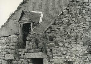 France Etude Photographique Ruines Maison en Pierres Ancienne Photo Deplechin 1970 #6