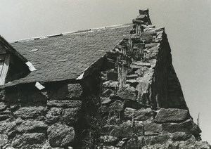 France Photographic Study Stone House Ruins Old Deplechin Photo 1970 #2