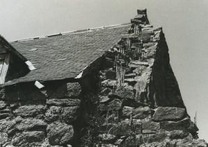 France Etude Photographique Ruines Maison en Pierres Ancienne Photo Deplechin 1970 #2