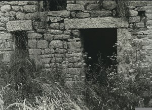 France Photographic Study Stone House Ruins Old Deplechin Photo 1970 #3