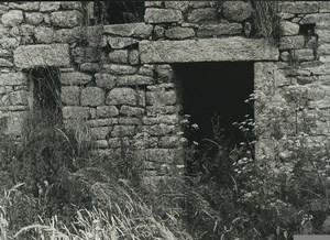 France Etude Photographique Ruines Maison en Pierres Ancienne Photo Deplechin 1970 #3