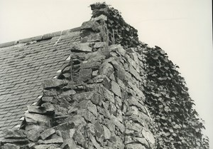 France Photographic Study Stone House Ruins Old Deplechin Photo 1970 #4