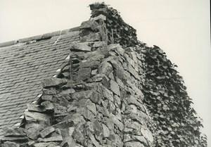 France Etude Photographique Ruines Maison en Pierres Ancienne Photo Deplechin 1970 #4