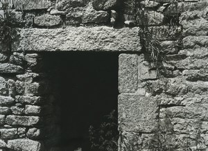 France Photographic Study Stone House Ruins Old Deplechin Photo 1970 #5