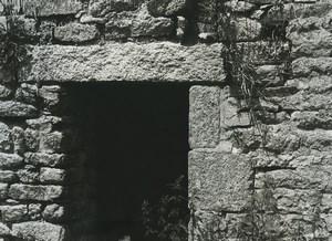 France Etude Photographique Ruines Maison en Pierres Ancienne Photo Deplechin 1970 #5