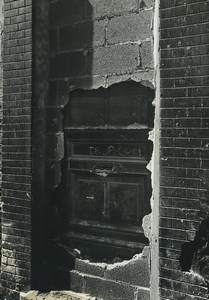 France Photographic Study Bricked up Door Old Deplechin Photo 1970
