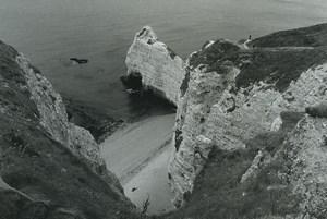 France Etretat Photographic Study Cliffs Seaside Old Deplechin Photo 1970 #8