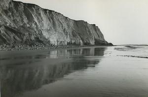 France Etretat Photographic Study Cliffs Seaside Old Deplechin Photo 1970 #12