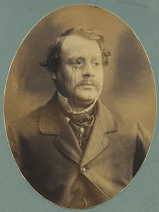 London English actor Henry Leigh Murray old photo Herbert Watkins 1859 #1