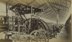 France Paris World Fair Machines gallery Old Photo 1878
