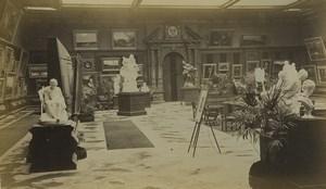 France Paris Exposition Universelle Section des Beaux-Arts Allemands Ancienne Photo 1878