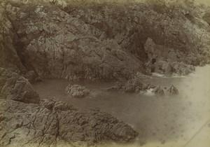France Saint-Malo Rothéneuf les falaises Ancienne Photo 1900 #2